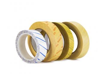 Autoclave tape with steam indicator